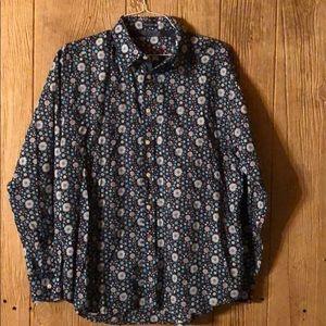 Robert Graham Button Up Shirt Size XXL